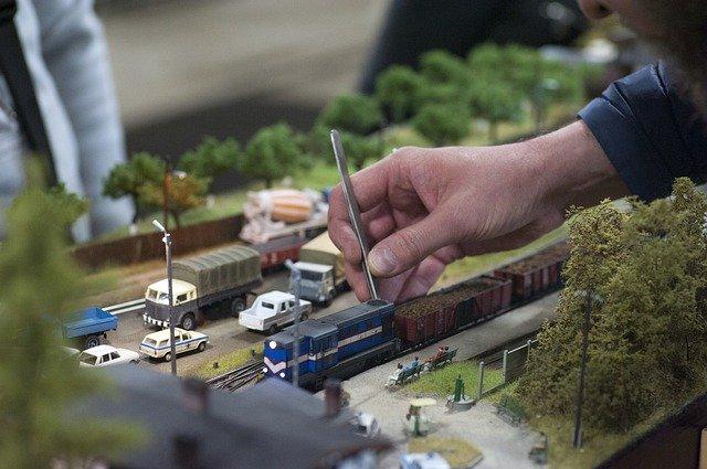 železniční modelář, model železnice